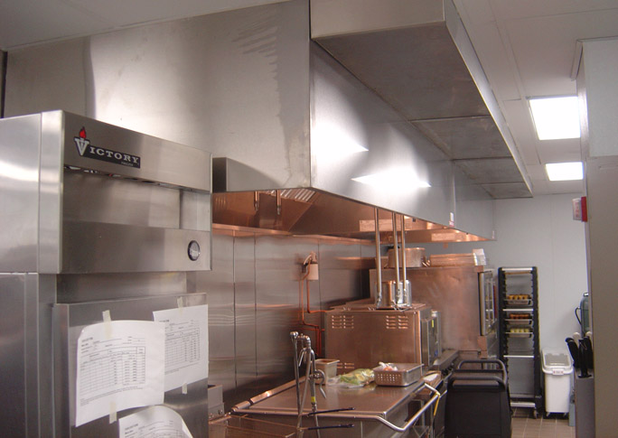 Kitchen Exhaust Hoods. Triumph Grill St.Louis