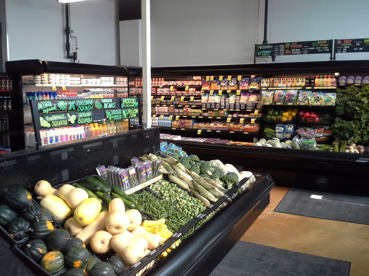 Grocery Display Refrigeration Build